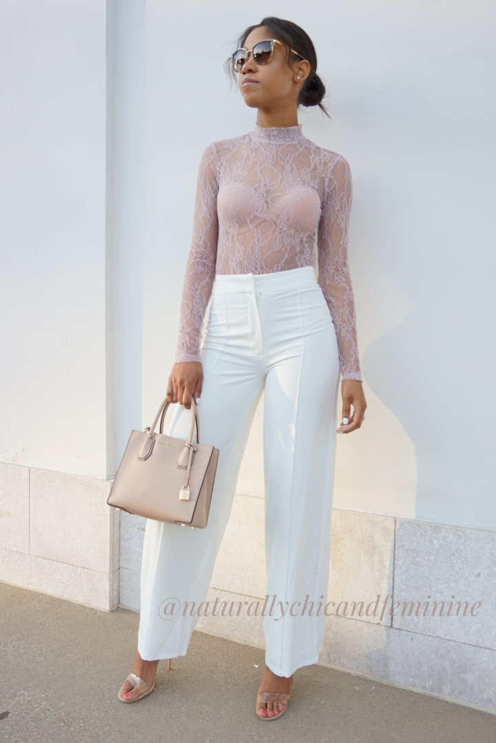 Thursday OOTD: Lace Bodysuit